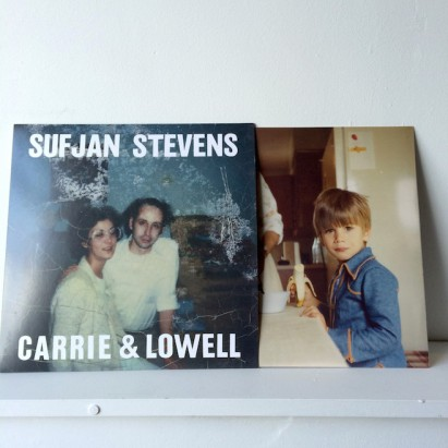 Carrie and Lowell vinyl cover. Photo credit: Pinterest