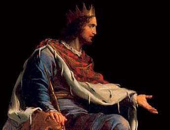 An artist's rendition of King Solomon. Photo credit: Raining Truth Prayer